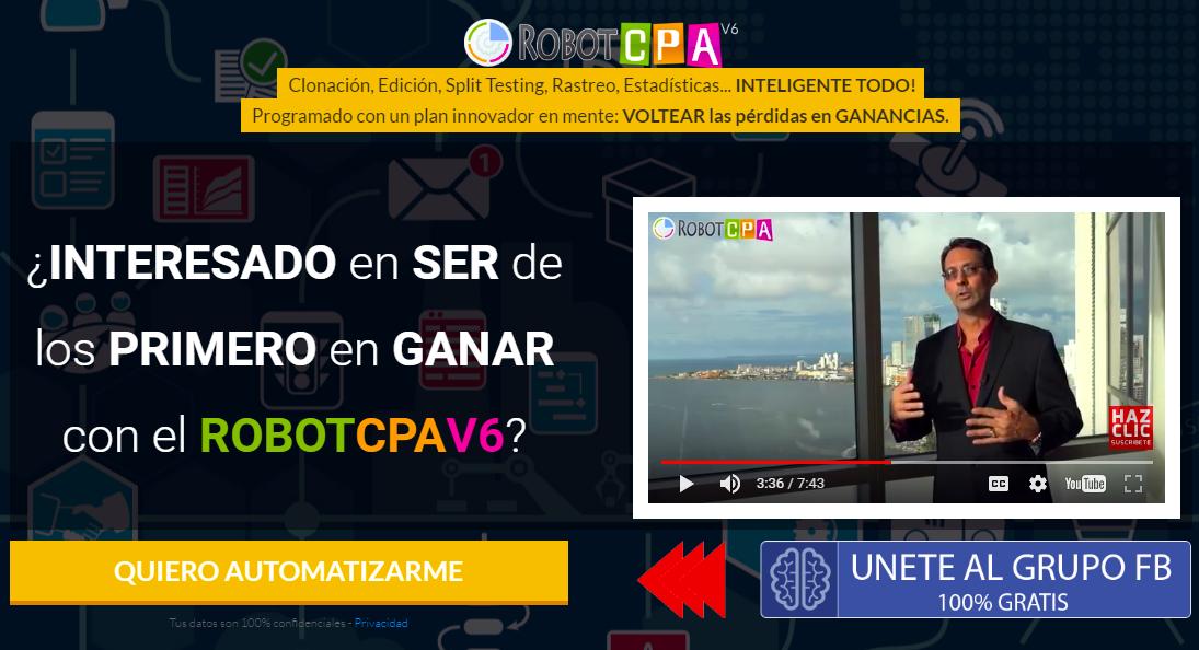 RobotCPA V6 – ¿De Veras Te Ayudará A Ganar Más Dinero?