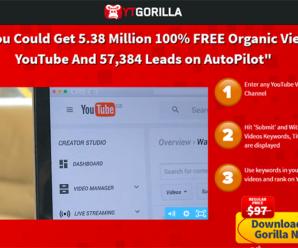 YT Gorilla » ¡Posiciona Tus Videos En Youtube!