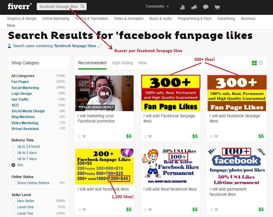 fiverr-facebook-fanpage-likes